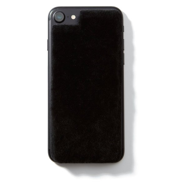 Jamie Clawson Black Shearling iPhone 7 Skin