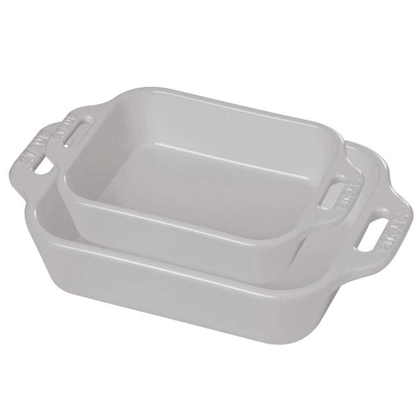 Staub 2-Piece Rectangular Baking Dish Set