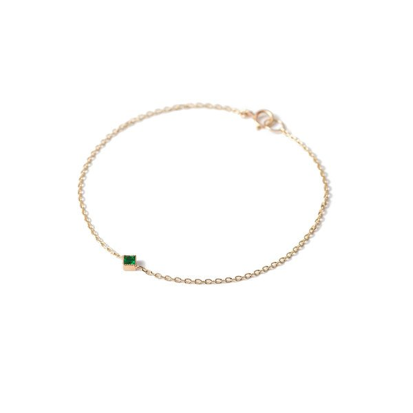 Bianca Pratt Emerald Bracelet