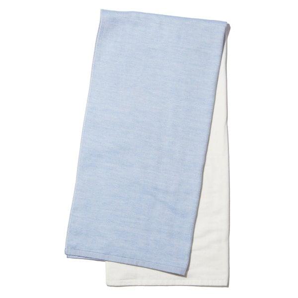 Yoshii Two Tone Chambray Bath Towel