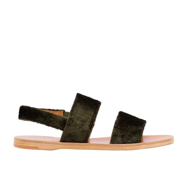 Prada Double-Band Sandals