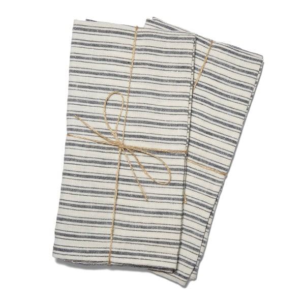 Caravan  Boat Stripe Towels, Set of 2