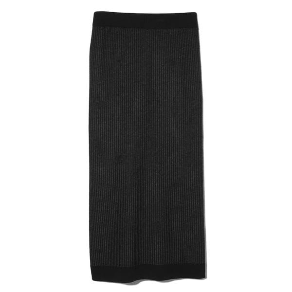 ATM Anthony Thomas Melillo Plated Tube Sweater Skirt