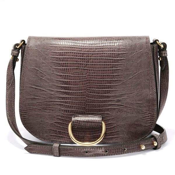 Little Liffner D Saddle Medium Handbag