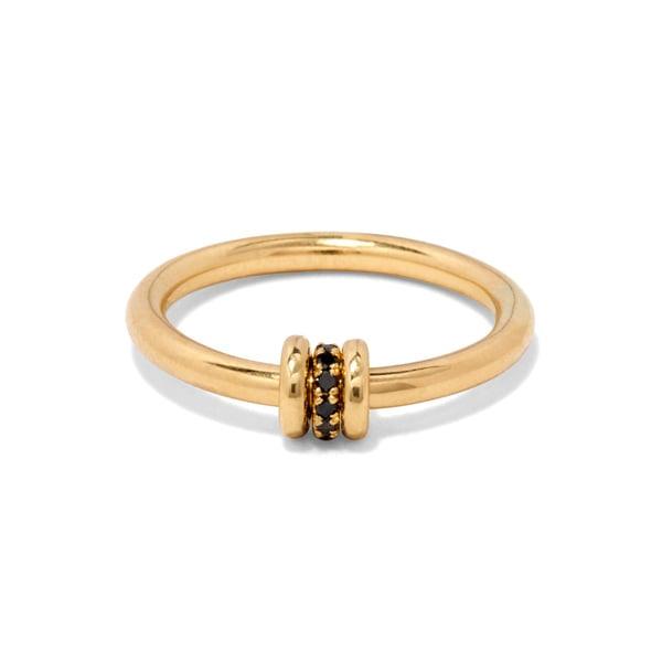 Spinelli Kilcollin Sirius Noir Ring