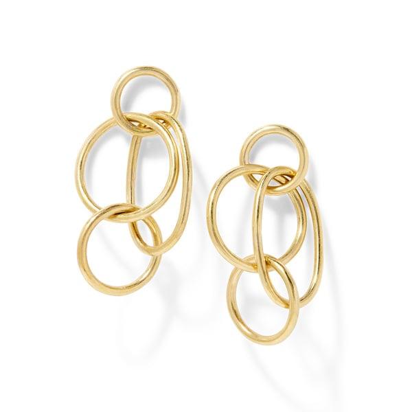 Soko Jewelry Quad-Ring Earrings