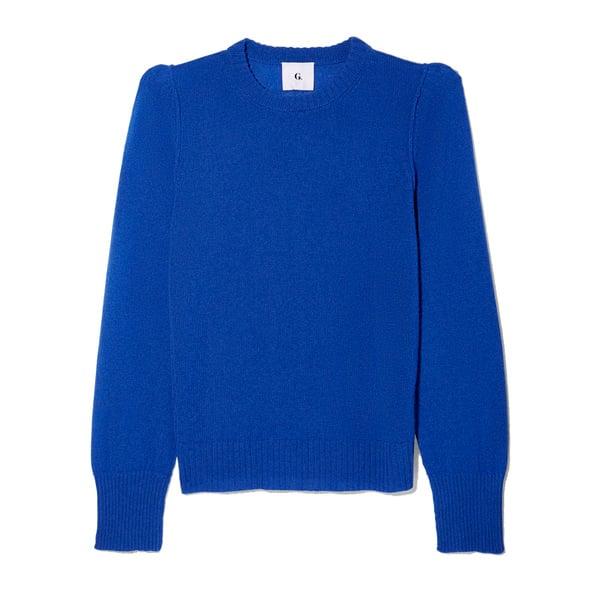 G. Label Meredith Cobalt Sweater