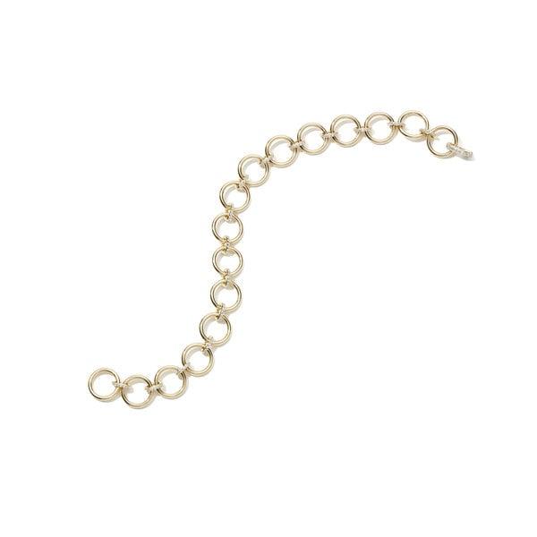 Eriness Loop Bracelet With Diamond Links