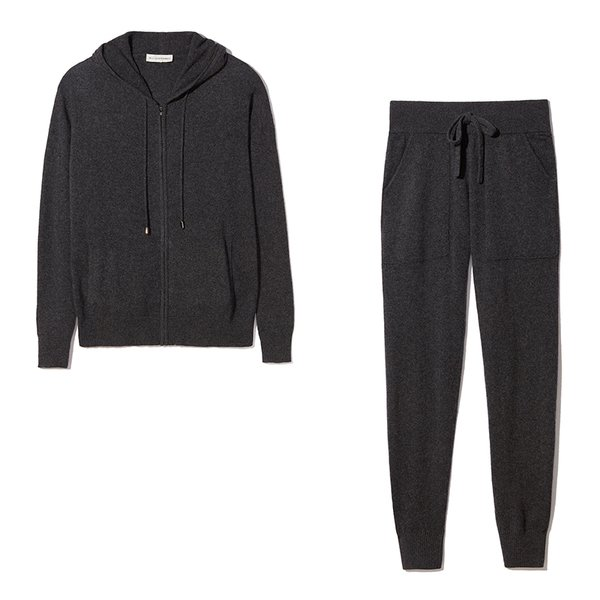 White + Warren Cashmere Pant and Hoodie Bundle