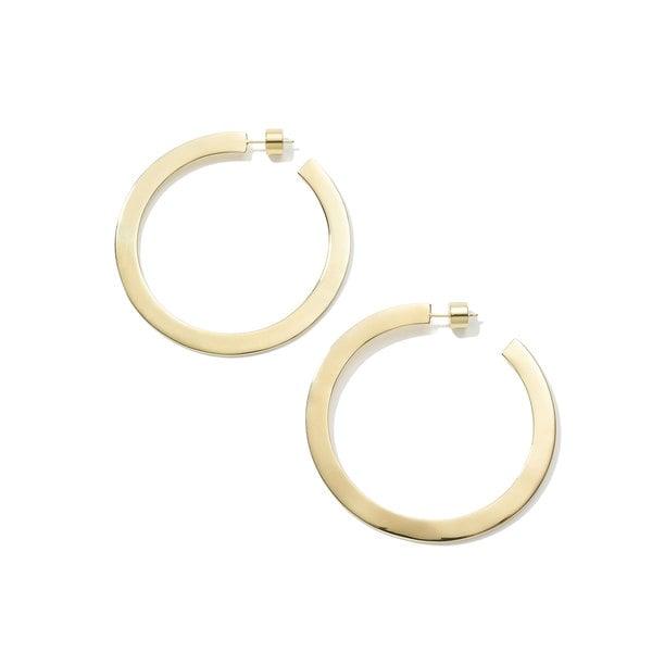 """Jennifer Fisher Drew Hoop Earrings, 2.5"""""""