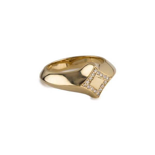 Michelle Fantaci Estrella Ring With Diamonds