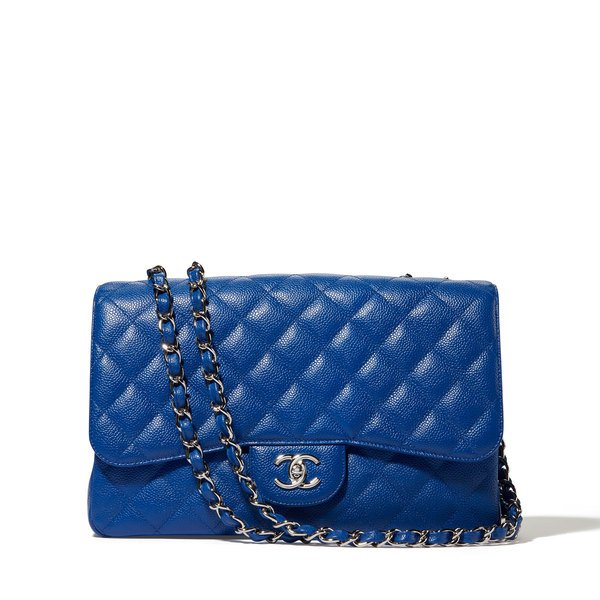 What Goes Around Comes Around Chanel Quilted Jumbo Double Flap Bag