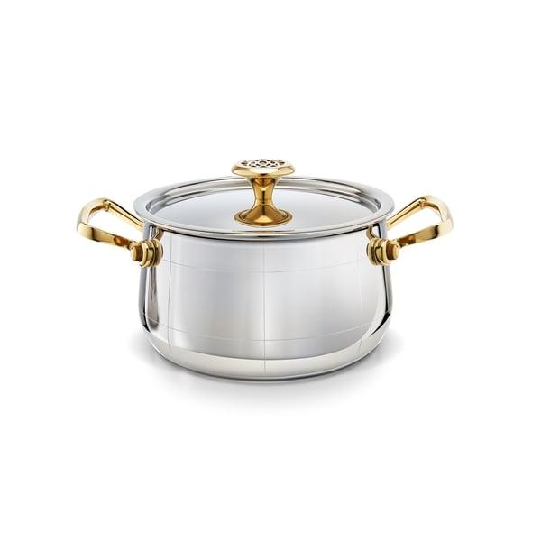 Ondine Cuisine Ltd. Platine Medium Saucepan, 18cm