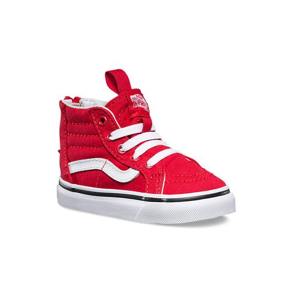 Vans Kids Sk8 Hi-Top Zip Sneaker