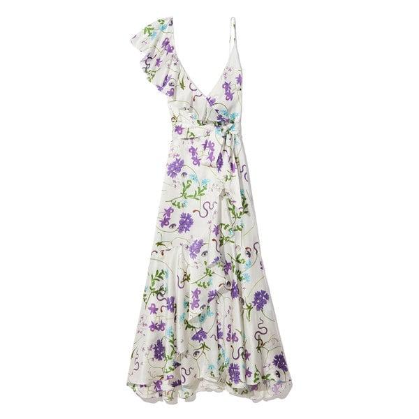 Borgo De Nor Isadora Ruffle Wrap Slip Dress