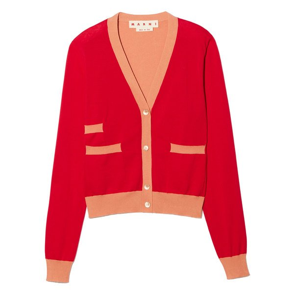 Marni Red Cardigan