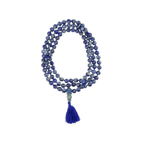 Cultural Elements Lapis Meditation Mala Beads