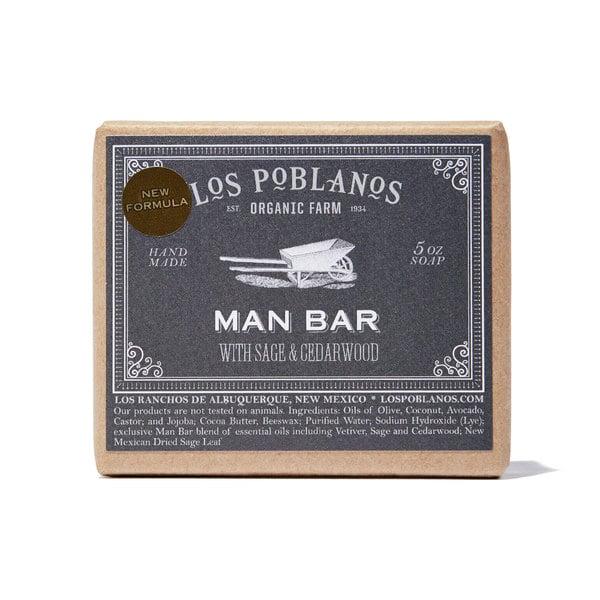 Los Poblanos Man Bar Soap