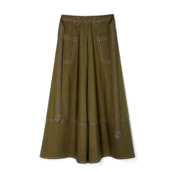 Marni Poplin Cotton Skirt