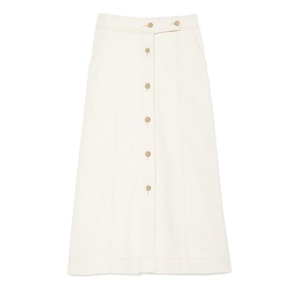 G. Label Ann Hazel Button-Front Skirt