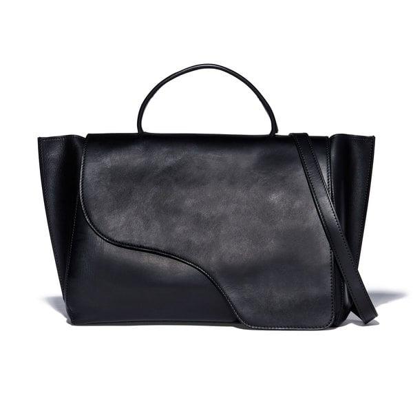 ATP Atelier Volterra Black Leather Handbag