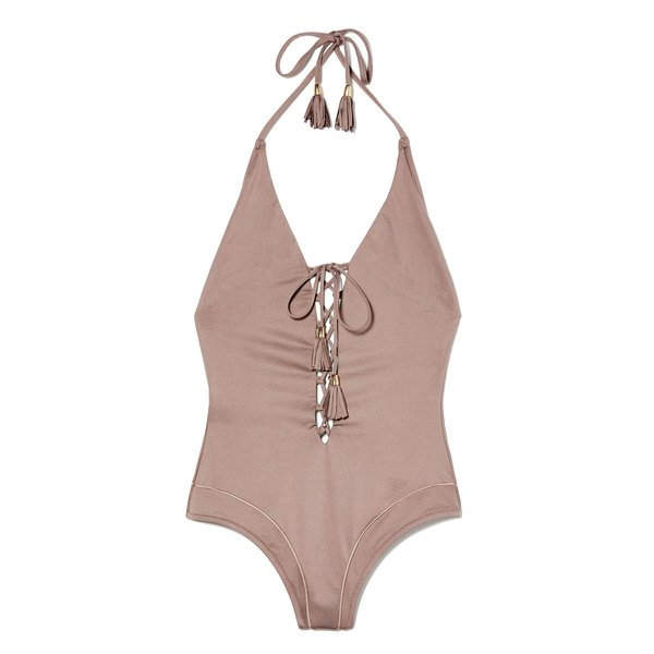 Paolita Siouxsie Lace-Up Swimsuit