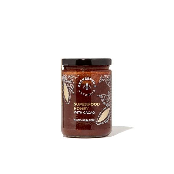 Beekeeper's Naturals Superfood Cacao Honey