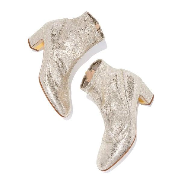 Rupert Sanderson Fernie Crush Laminate Boots