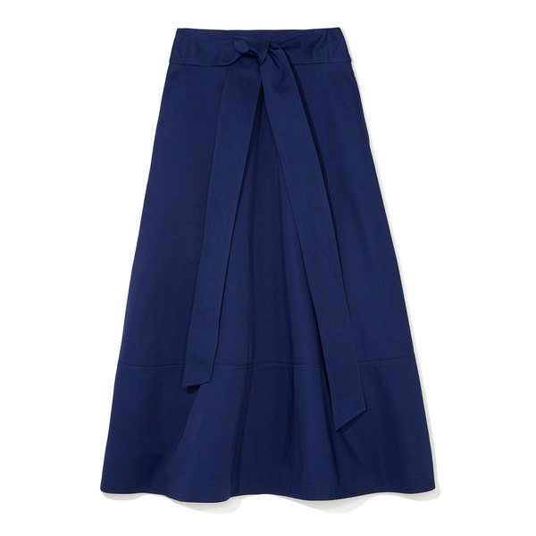 G. Label Lily Belted Flare Skirt