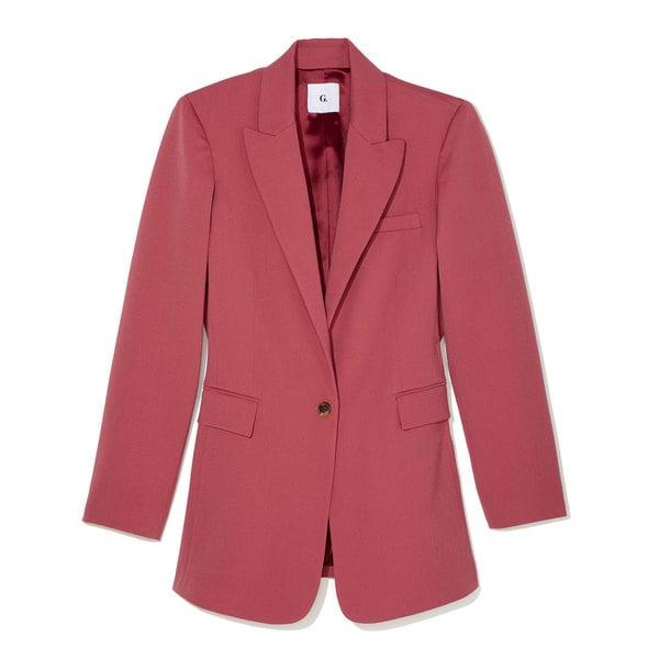 G. Label Keating Single-Button Blazer