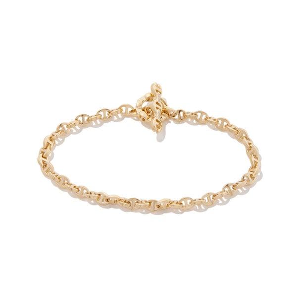 Hoorsenbuhs Open-Link Diamond Toggle Bracelet