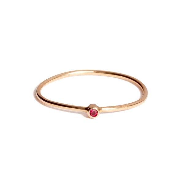 Jennifer Meyer Ruby Thin Ring