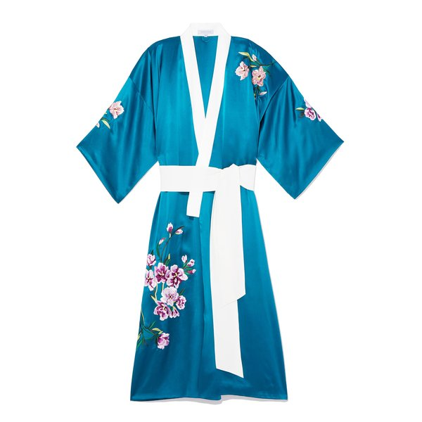 Olivia von Halle Queenie Kimono Robe