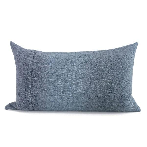 espanyolet goop Embroidered Rectangle Linen Pillow