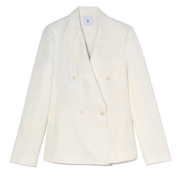 G. Label Jonathan Double-Breasted Blazer