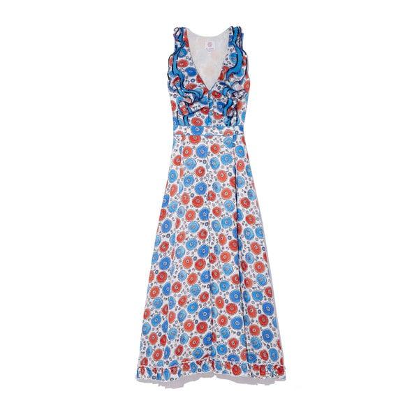 Gül Hürgel Ruffle Neck Dress