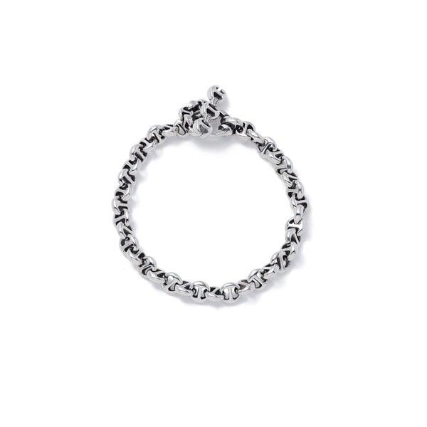 Hoorsenbuhs Open-Link Sterling Silver Bracelet