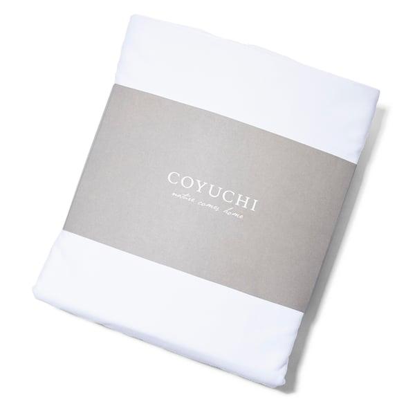 Coyuchi  500 TC Organic Sateen Sheet Set King Alpine White