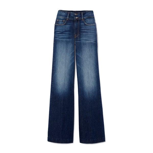goop x Frame Slim Palazzo Flare Jeans