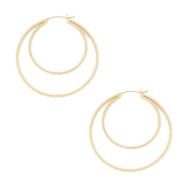 Nancy Newberg Double Hoop Earrings