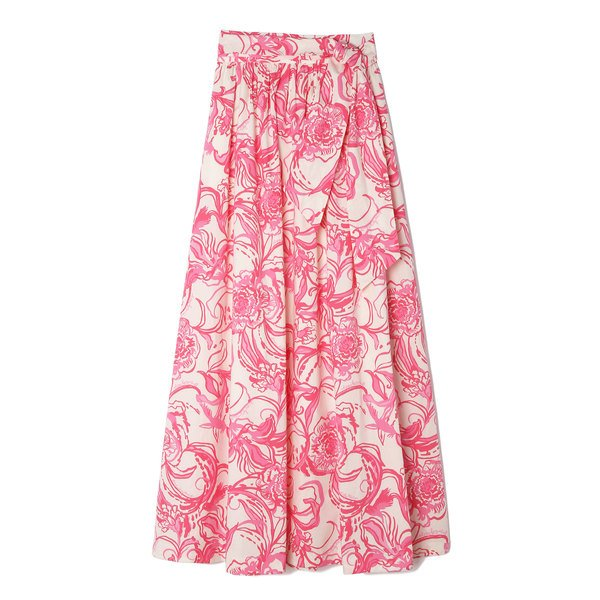 goop x Lilly Pulitzer Lilly Maxi Skirt