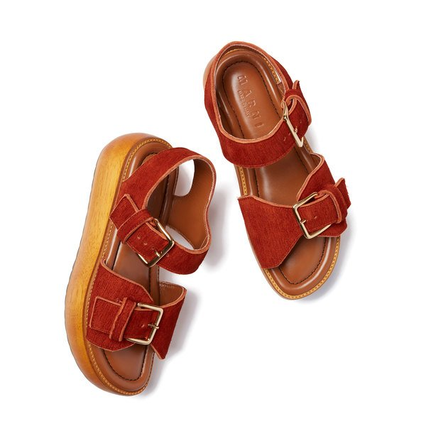 Marni Zeppa Stacked Sandal