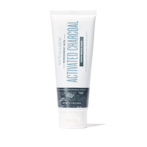 Schmidt's Activated Charcoal with Wondermint Tooth + Mouth Paste