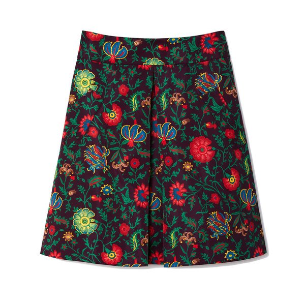 La DoubleJ Jacquard Printed Mini Skirt