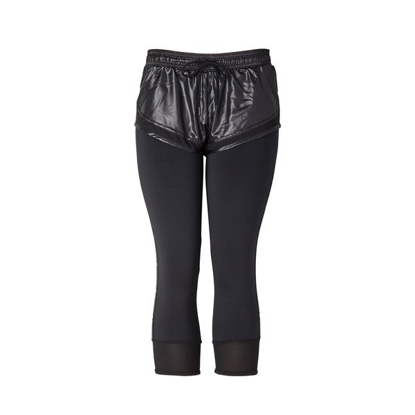 Adidas by Stella McCartney Performance Essentials Shorts Over Tights