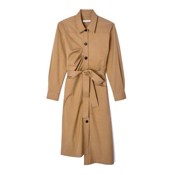 Rejina Pyo Madison Cotton Military Dress