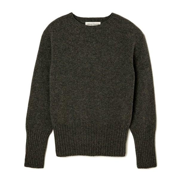 Officine Generale Marie Seamless C-Neck Sweater