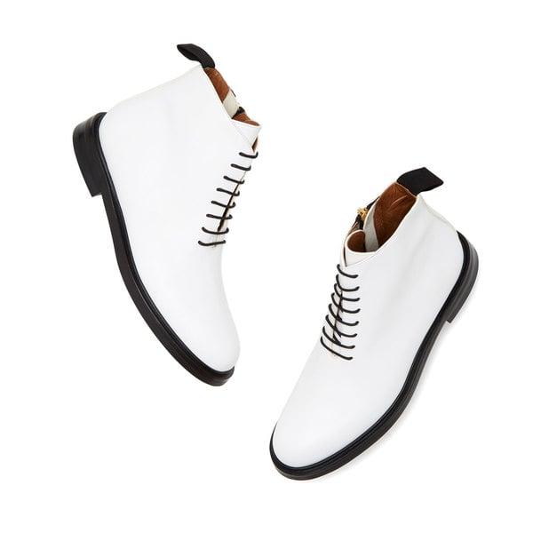 ATP Atelier Erica Leather Combat Boots