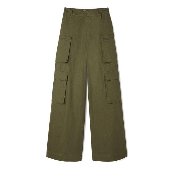 G. Label Dmitri Wide-Leg Cargo Pants