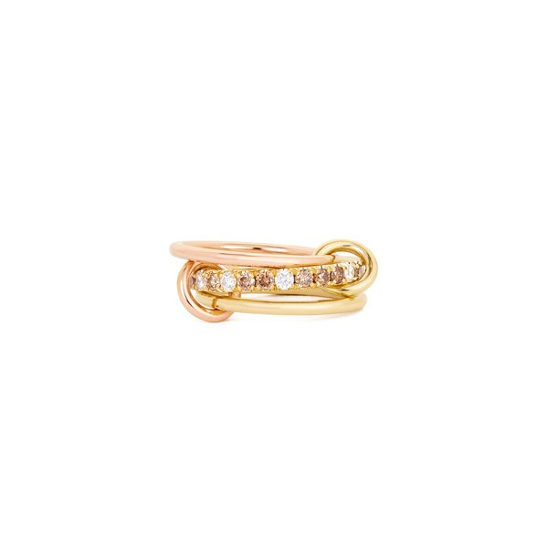 Spinelli Kilcollin Raneth Pavé Cognac Ring